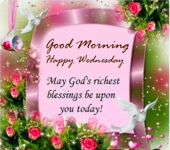 Gods Blessings Good Morning Happy Wednesday Image HD