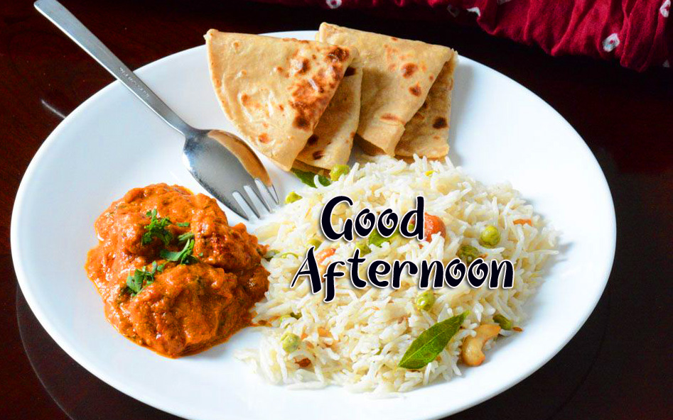 Good Afternoon Sunday Lunch Pic HD