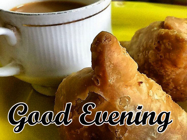 Good Evening Chai and Samosa Picture