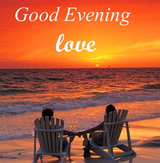 Good Evening Love Couple Picture