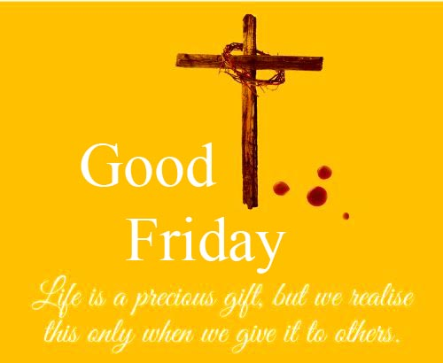 Good Friday Blessing Quotes Cross Wallpaper