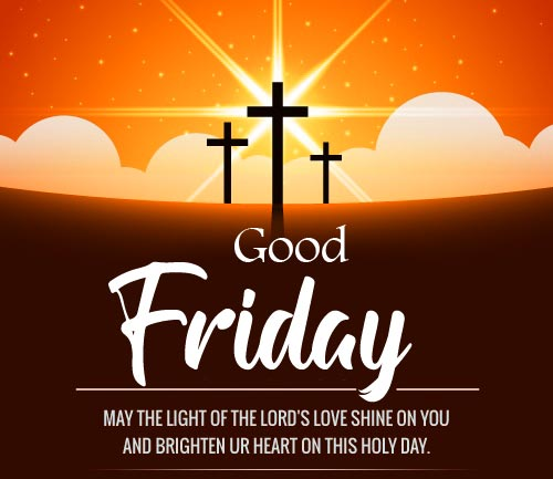 Good Friday Cross and Quotes Wallpaper