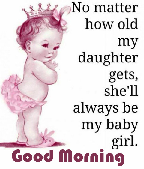 Good Morning Baby Girl Quotes
