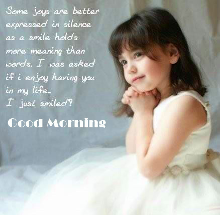 Good Morning Baby Quotes Picture