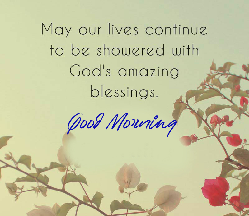 Good Morning Blessing Message Image