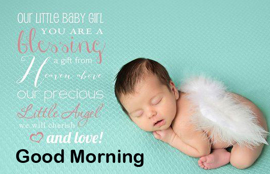 Good Morning Fairy Baby Quotes Image