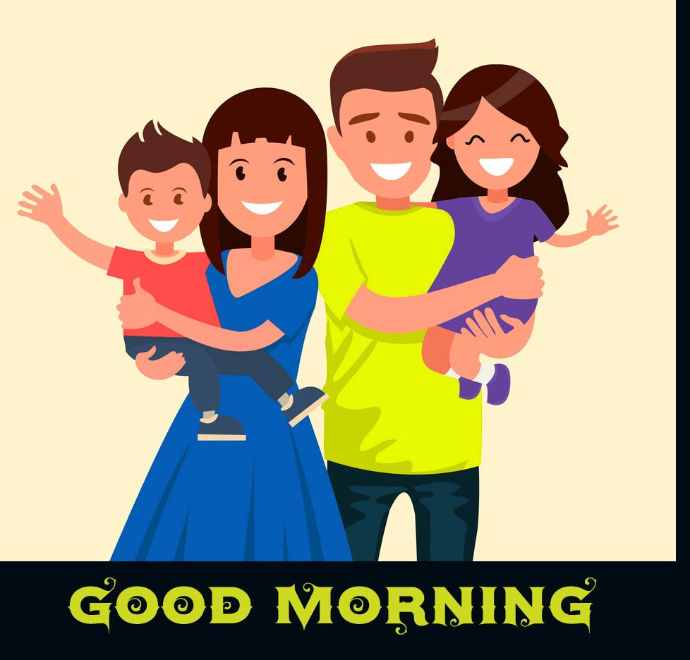 Good Morning Family Animated Pic