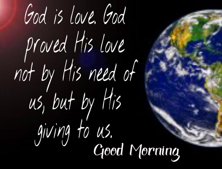 Good Morning God Love Picture