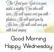 Good Morning Happy Wednesday Blessing HD Picture and Image