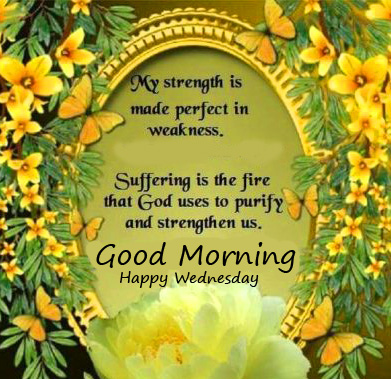 Good Morning Happy Wednesday Blessing Picture