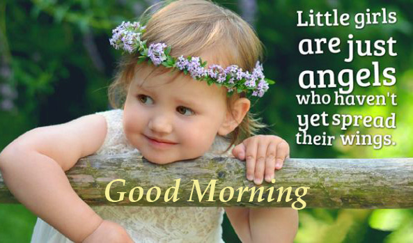 Good Morning Little Baby Quotes Pic