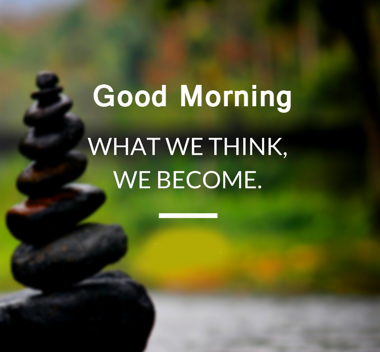 Good Morning Positive Words Pic