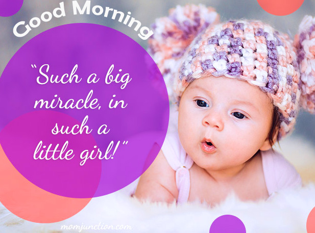 Good Morning Quotes Baby Wallpaper