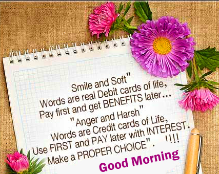 Good Morning Quotes Card Image