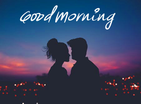 Good Morning Romantic Lover Picture HD