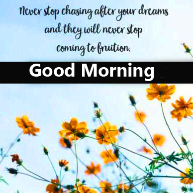 Good Morning Wish with Blessing Message Pic