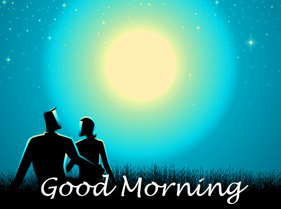 Good Morning with Animated Lover Pic