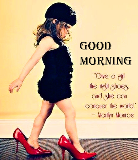 Good Morning with Beautiful Baby Girl Quotes