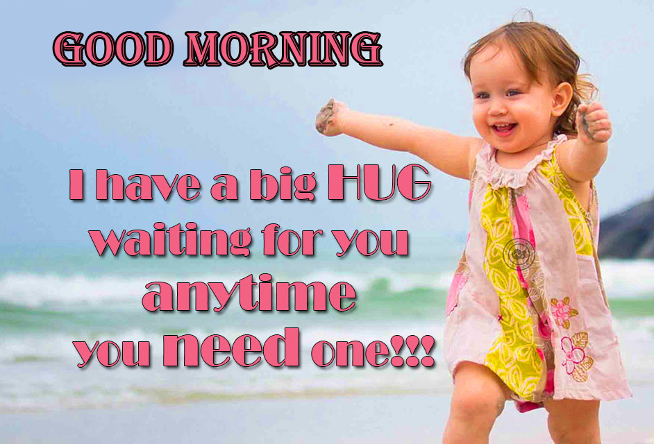 Good Morning with Beautiful Baby Quotes