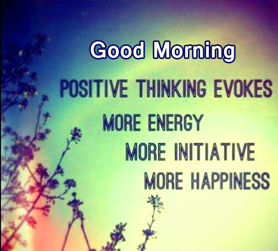 Good Morning with Beautiful Positive Words