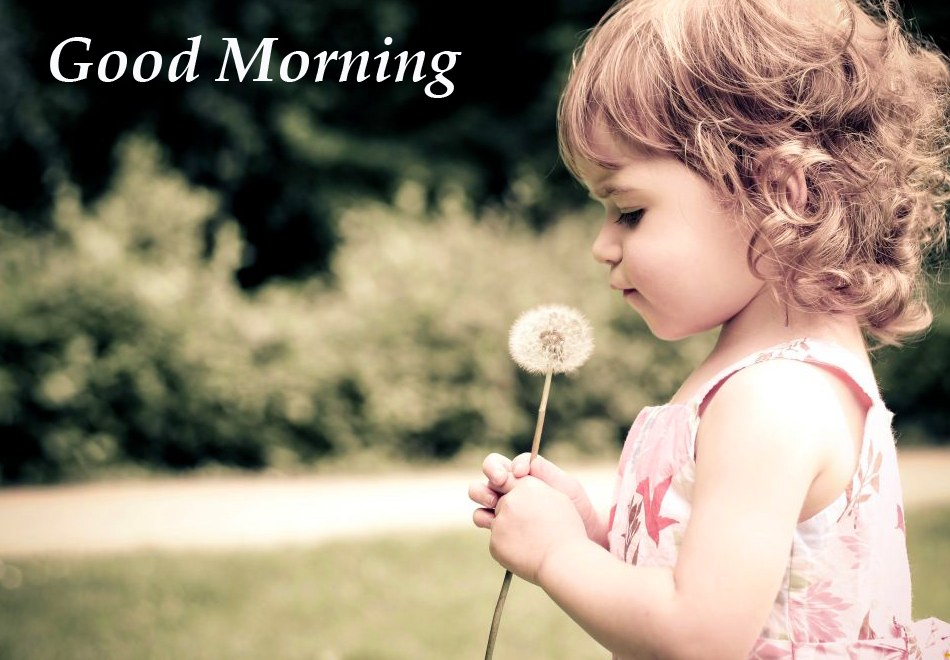 Good Morning with Girl Kid Pic