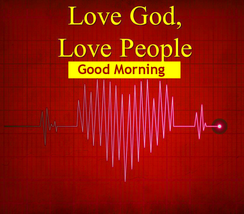Good Morning with Love for God Message