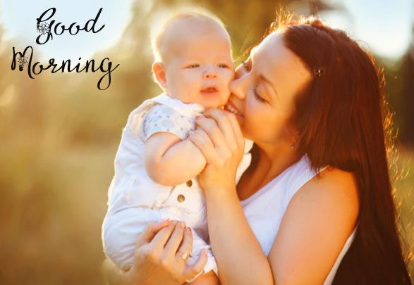 Good Morning with Mum and Baby