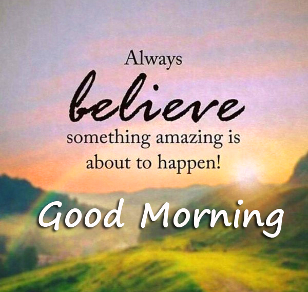 Good Morning with Positive Quotes Wallpaper