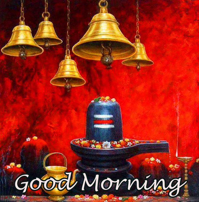 Good Morning with Shivlinga Picture