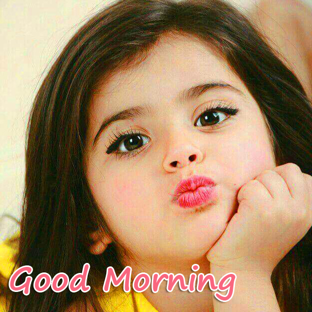 Good Morning with Stylish Kid Pic