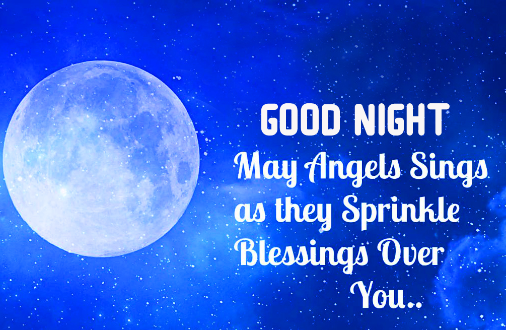 Good Night Blessing Message Picture