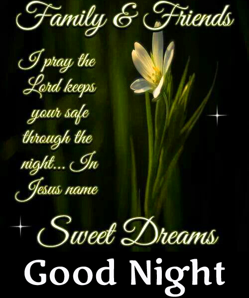 Good Night Blessing Quotes Picture