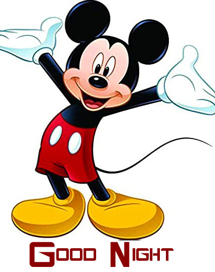 Good Night Happy Mickey Mouse Pic