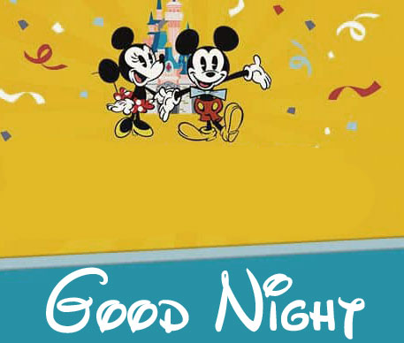 Good Night Mickey and Minnie Mouse Picture HD