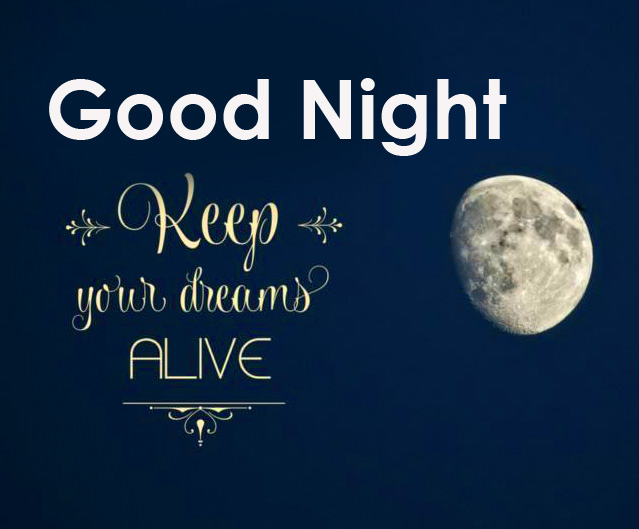 Good Night Moon with English Quotes