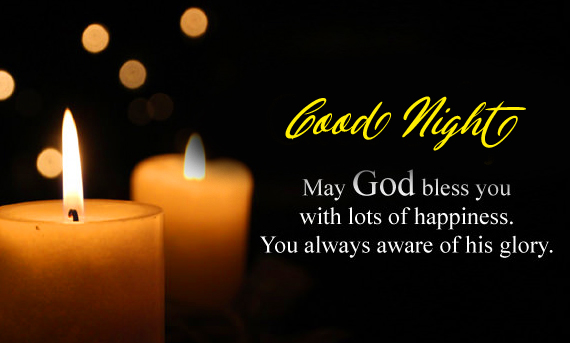 Good Night Religious Greeting Picture