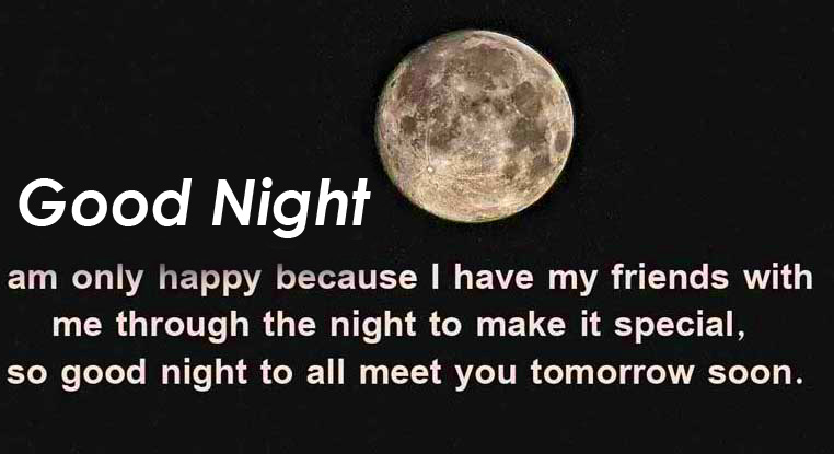 Good Night Special Message Picture