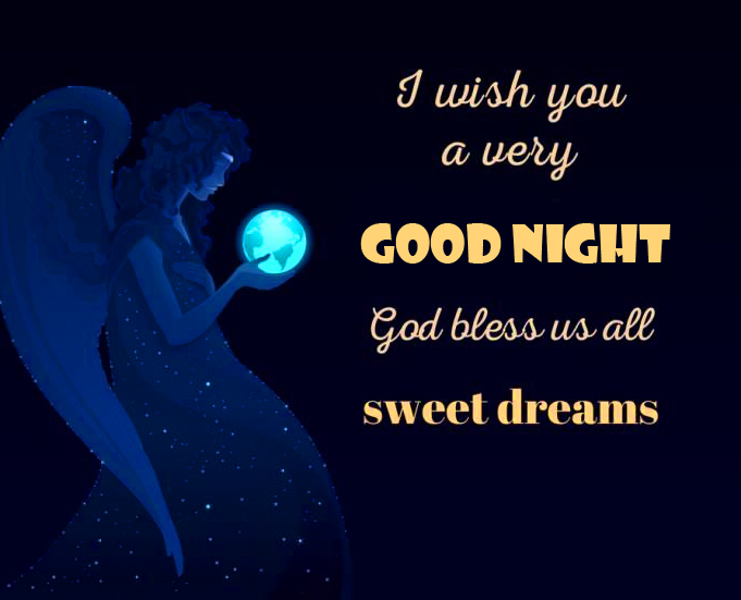 Good Night Sweet Dreams Blessing Picture
