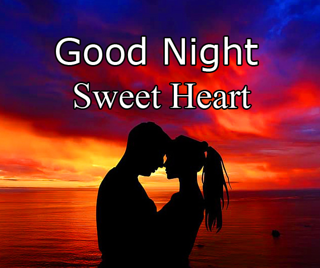 Good Night Sweet Heart Romantic Couple Picture HD