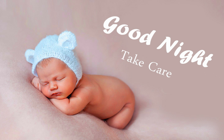 Good Night Take Care Baby Sleeping Picture