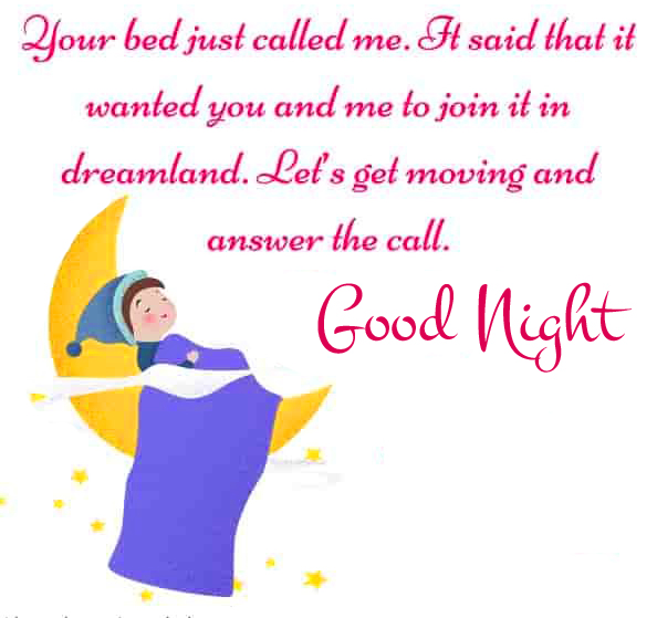 Good Night with Best Blessing Quote