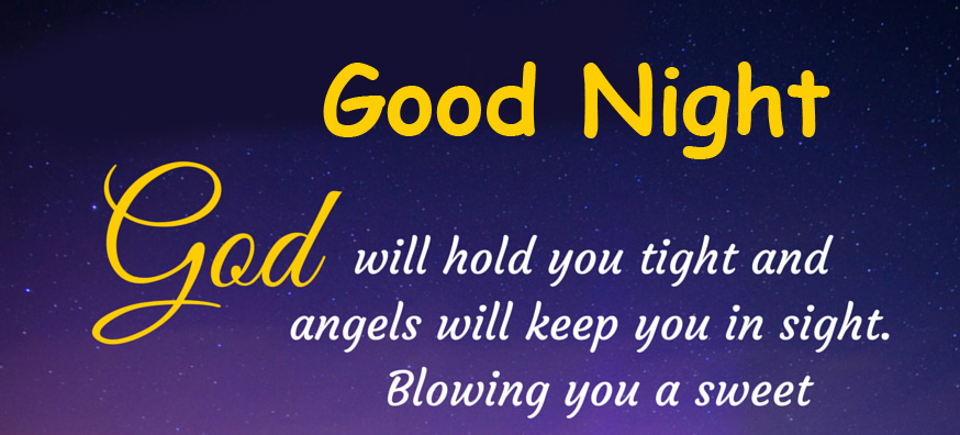 Good Night with God Message Pic