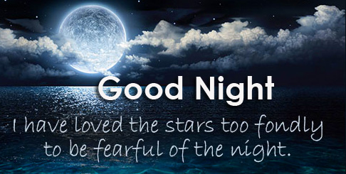 Good Night with Love Quotes in English