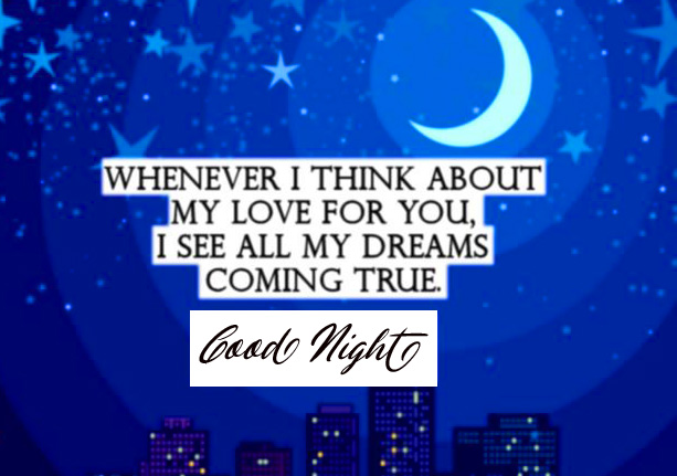 Good Night with True Love Quotes