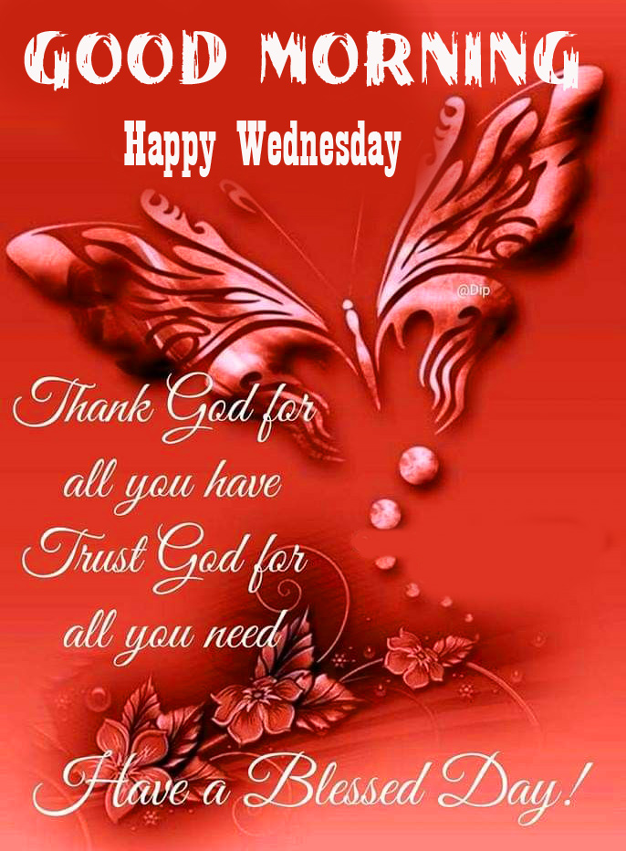 HD Blessing Good Morning Happy Wednesday Wallpaper
