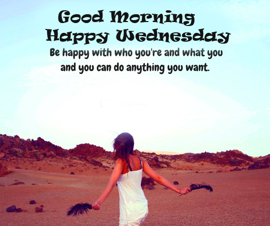 HD Blessing Message with Good Morning Happy Wednesday