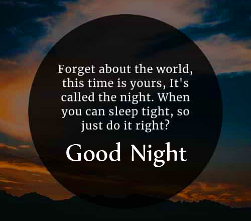 HD Blessing Quotes Good Night Wallpaper
