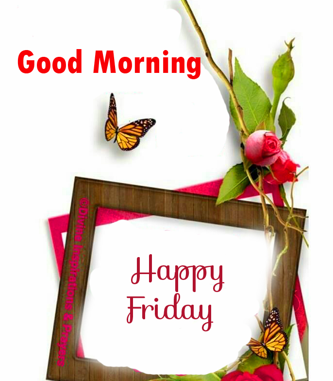 HD Good Morning Happy Friday Card Picture