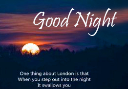 HD Good Night Blessing Quote Pic