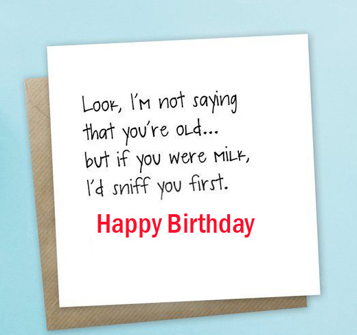 Happy Birthday Card Message Pic